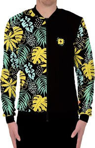 Czarna bluza Power Canvas w młodzieżowym stylu