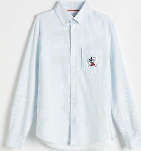Koszula Reserved w stylu casual z klasycznym kołnierzykiem