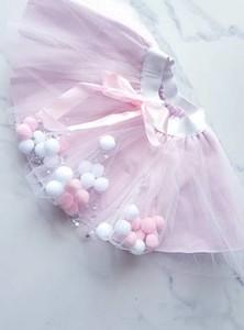 Różowa spódniczka dziewczęca e-lily.pl