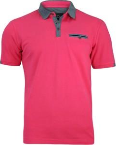 Różowe koszulki polo męskie wyprzedaż, kolekcja lato 2020