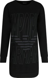 Czarna sukienka Emporio Armani mini