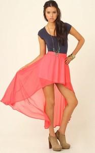 e5afa9371b długa spódnica asymetryczna - stylowo i modnie z Allani