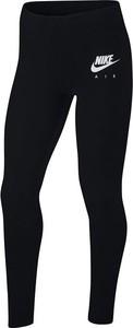 Czarne legginsy dziecięce Nike