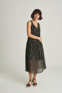 Sukienka MEXX na ramiączkach maxi z dekoltem w kształcie litery v