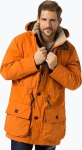 Pomarańczowa kurtka Nagano w stylu casual