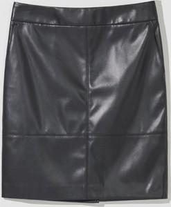 Spódnica Mohito w stylu casual ze skóry mini