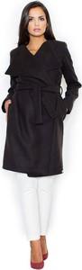 Czarny płaszcz TAGLESS