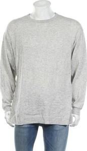 Sweter H&M z okrągłym dekoltem z bawełny