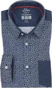 Koszula S.Oliver z klasycznym kołnierzykiem w stylu casual