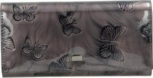 Brązowy portfel NOBO ze skóry
