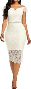 Sukienka Sandbella ołówkowa hiszpanka
