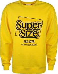 Żółta bluza ubierzsie.com z bawełny