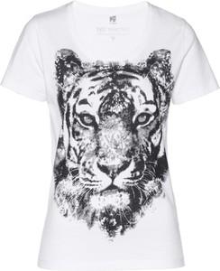 T-shirt bonprix bpc selection w młodzieżowym stylu z krótkim rękawem