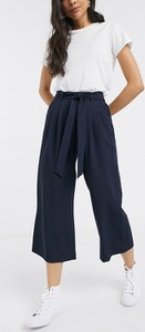 Granatowe spodnie Asos