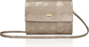 Złota torebka Felice na ramię