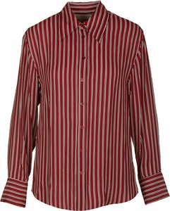 Czerwona koszula Michael Kors w stylu casual