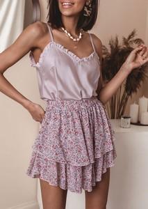 Spódnica Latika mini w młodzieżowym stylu