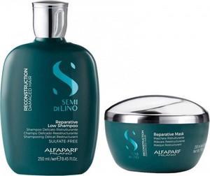 Alfaparf Milano Alfaparf Reparative Zestaw regenerujący - szampon 250ml maska 200ml