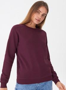 Czerwona bluza House krótka