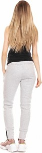 Spodnie Ciążowe Model 0133 Grey - PeeKaBoo