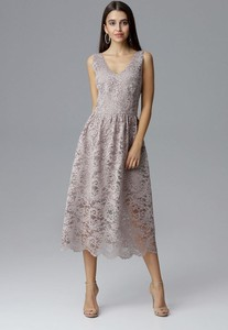 Sukienka Figl midi trapezowa