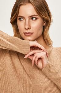 Sweter Calvin Klein z dzianiny w stylu casual
