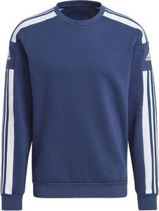 Niebieska bluza Adidas z tkaniny w sportowym stylu
