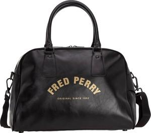 Czarna torba podróżna Fred Perry