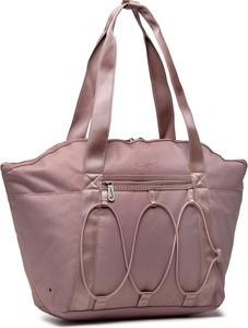 Różowa torebka Nike w sportowym stylu na ramię