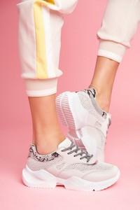 Buty sportowe Ps1 z płaską podeszwą sznurowane