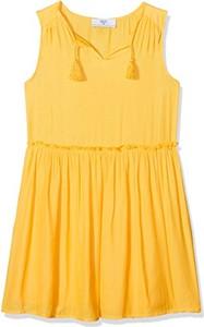 Żółta sukienka dziewczęca Le temps des cerises