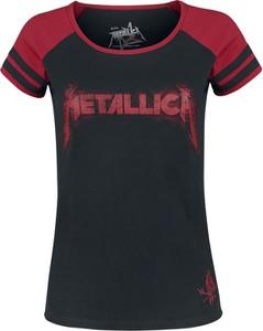 T-shirt Metallica z krótkim rękawem