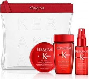 Kerastase Kérastase Soleil zestaw do włosów po kąpieli słonecznej | szampon, olejek, maska