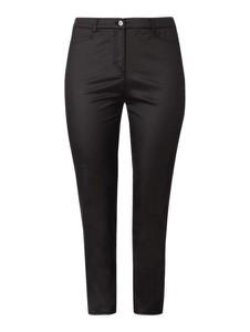 Czarne spodnie Samoon w stylu klasycznym