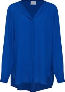Niebieska bluzka Vila z długim rękawem