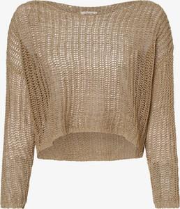 Brązowy sweter Only w stylu casual