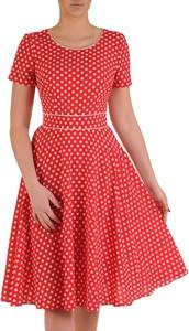 abf5e110 Czerwone sukienki w kropki, kolekcja lato 2019