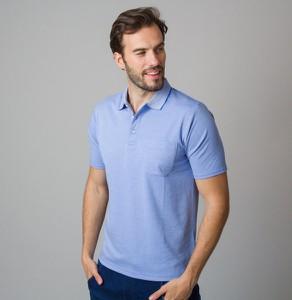 Niebieski t-shirt Willsoor z krótkim rękawem