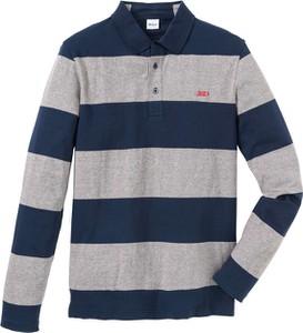 Koszulka polo bonprix John Baner JEANSWEAR w stylu casual z długim rękawem