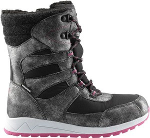 Buty dziecięce zimowe 4F sznurowane dla dziewczynek