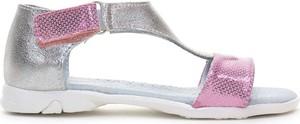 Buty dziecięce letnie Kornecki dla dziewczynek ze skóry