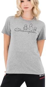 T-shirt Champion z krótkim rękawem z okrągłym dekoltem