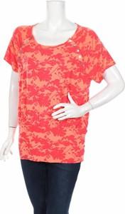 Czerwona bluzka Milker z krótkim rękawem