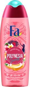 Fa, Polynesia Secrets Gel, żel pod prysznic, Umuhei Ritual Exotic Flower, 400 ml