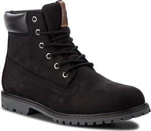 Czarne buty zimowe Big Star