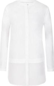 Koszula Calvin Klein z długim rękawem z jedwabiu