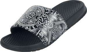 Czarne buty letnie męskie Emp