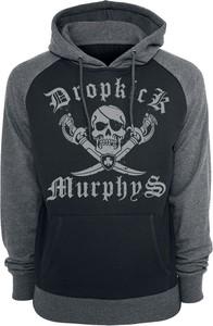 Czarna bluza Dropkick Murphys w młodzieżowym stylu