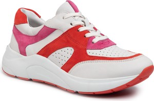 Sneakersy Caprice na platformie