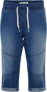 Niebieskie rybaczki dziecięce Name it z jeansu